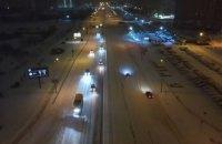 """Офіс президента і """"Укравтодор"""" допомогли очистити від снігу 50 км київських доріг"""