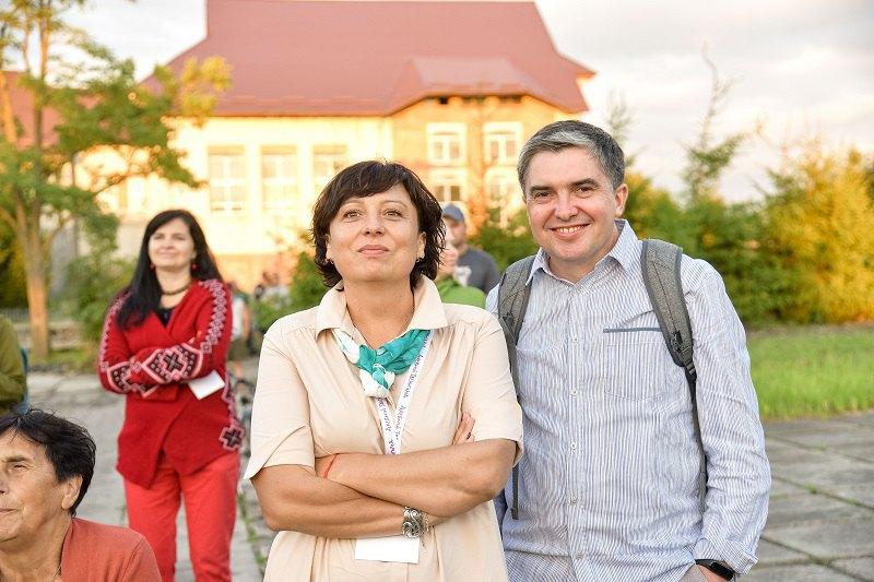 Наталя Войцещук і Василь Петрик