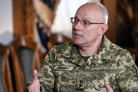 Росія утримує біля кордону з Україною близько 80 тисяч особового складу, - Хомчак