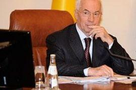 Азаров просил священника изгнать «дух» Тимошенко