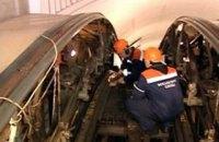На киевском железнодорожном вокзале снова ремонтируют эскалатор