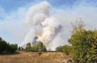 У Чорнобильській зоні продовжують гасити пожежу на 14 гектарах лісу