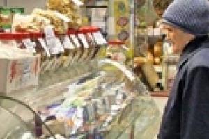 Дефляция в Украине в августе ускорилась до 0,2%