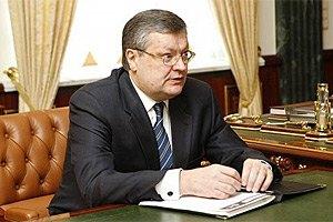 Україна в ОБСЄ займеться контролем над збройними силами, - Грищенко