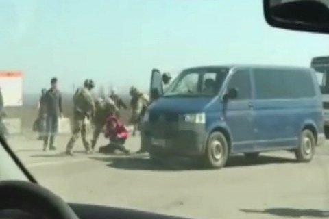Налинии разграничения СБУ задержала сепаратиста