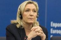 Партії Марін Ле Пен висунули звинувачення в нецільовому використанні коштів ЄС