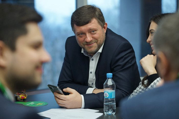 Глава партии «СН» Александр Корниенко