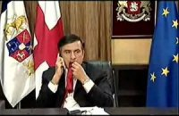 """За """"метание шоколада"""" в Саакашвили мужчина сел на 3 месяца"""