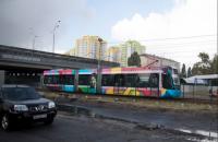 Швидкісний трамвай на Борщагівку в Києві відновить роботу з 30 вересня