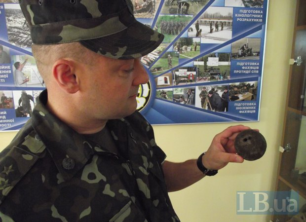 В музее Центра разминирования есть боеприпасы еще со времен Первой мировой войны