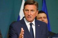 Президента Словенії закликали подати у відставку через висловлювання про Україну і Туреччину