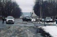 На виїзді з АЗС у Калуші сталася смертельна ДТП