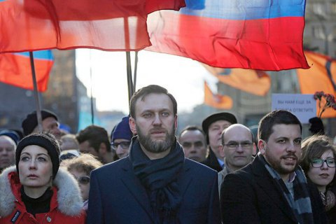 По всій Росії затримують активістів штабу Навального