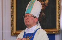 Католицький єпископ з Кам'янця-Подільського помер від коронавірусу