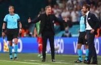Тренер збірної Данії прокоментував вирішальне пенальті в матчі з англійцями
