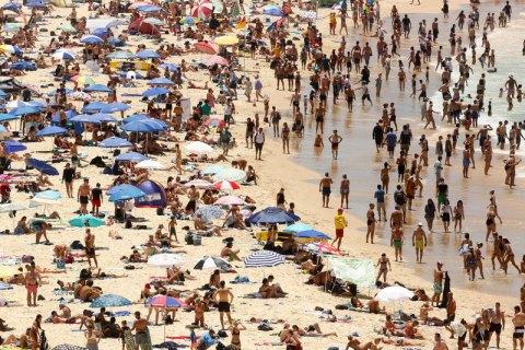 ВСиднее зафиксировали рекордную за практически 80 лет жару