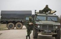 Россия продолжает стягивать войска и технику в Крым