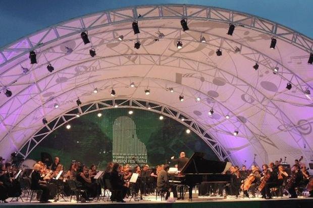 Габалинский музыкальный фестиваль в Азербайджане