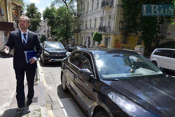 Сергій Шкарлет після інтерв'ю в редакції Lb.ua