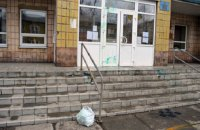 В Белозерском мэра забросали яйцами и облили зеленкой