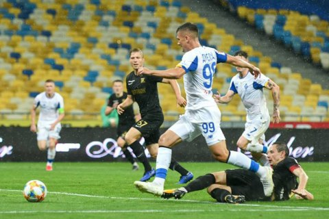 """Матч """"Динамо"""" – """"Колос"""" отметился четырьмя пенальти, удалением и спорным судейством"""