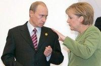 Меркель обговорила з Путіним розбіжності щодо України