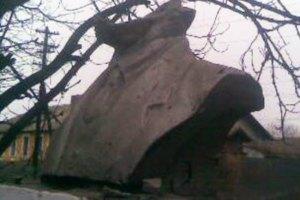 В Кривом Роге чугунному памятнику Ленину отбили голову