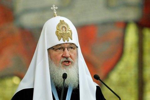 Патриарх Кирилл надеется, что его когда-то еще пустят в Украину