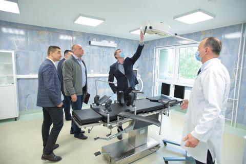 В Стрыйской больнице на Львовщине обновили приемное отделение