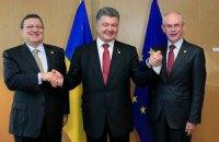 Украина подписала экономическую часть СА с ЕС