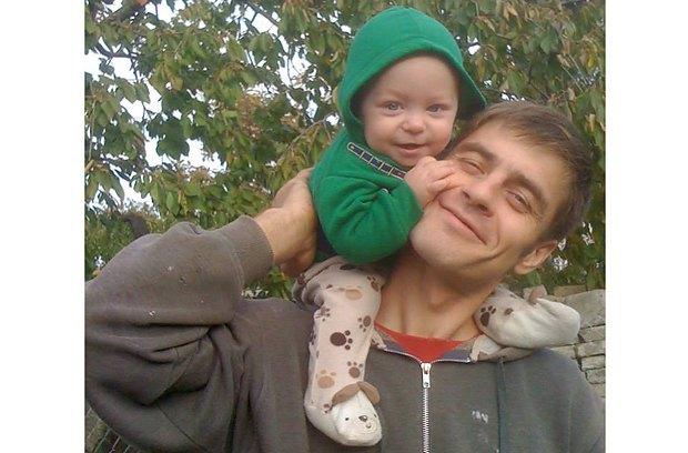 Муж Юли с сыном