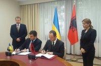 Украина и Албания договорились об отмене виз