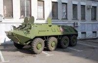 МВД задействовало бронетехнику для патрулирования в Харькове
