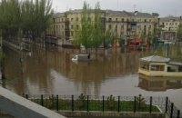 Краматорск затопило после ливня