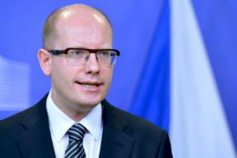 Премьер Чехии решил уйти в отставку