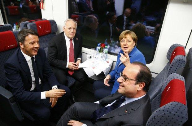 Европейсккие политики испытывают Готардский туннель