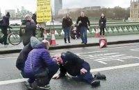 На центральных мостах Лондона установили барьеры
