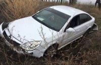 Грабитель из Молдовы на автомобиле прорвался через границу в Украину