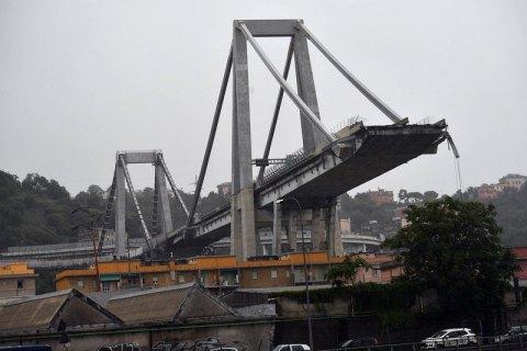 В італійській Генуї обвалився автомобільний міст - 35 загиблих (оновлено)