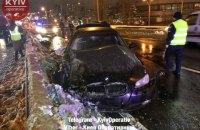 В Киеве на Лыбедской смертельное ДТП: BMW вылетел в отбойник