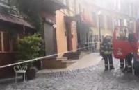 У ресторані на Андріївському узвозі в Києві прогримів вибух