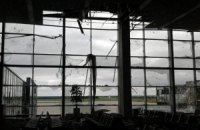 Донецкий аэропорт разгромлен в результате боев с террористами