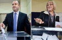 Генерал Радев и юрист Цачева вышли во второй тур президентских выборов в Болгарии