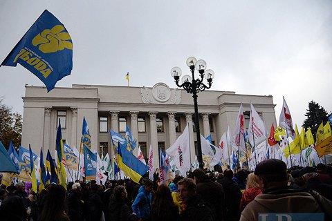 Порошенко поддержал требования митинга за политическую реформу