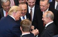 Путін заявив, що обговорював звільнення українських моряків на зустрічі з Трампом