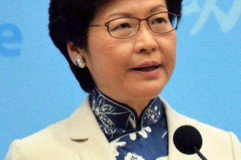 """США наклали санкції на голову Гонконгу через """"репресії проти демократії"""""""