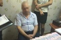 СБУ поймала на взятке главного инспектора Гоструда в Одесской области