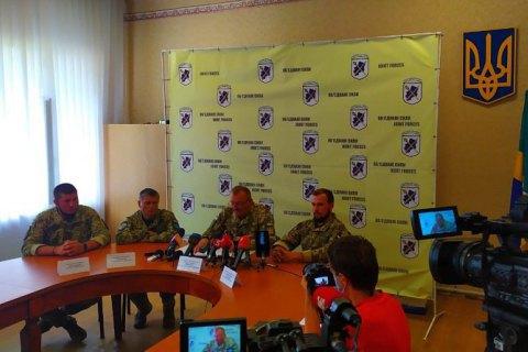 Командующий ООС: ВСУ готовы и впредь давать отпор оккупантам