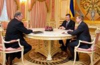Янукович встретился с представителем Ротшильдов