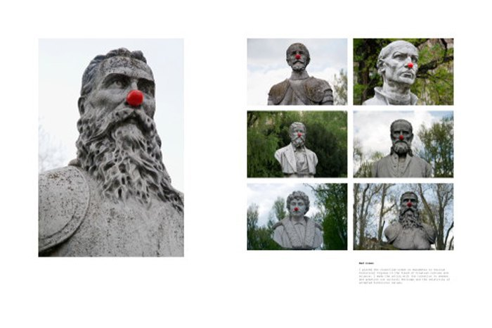 Igor Grubic,366 Liberation Rituals (Red noses)